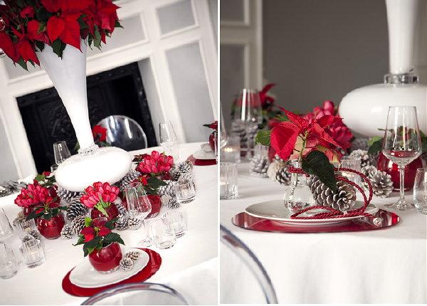 Kersttafel trend 39 modern chic 39 kerststerdag - Ruimte stijl louis philippe ...