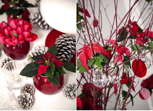 Kerst Tafel Decoratie : Kersttafel trend modern chic kerststerdag