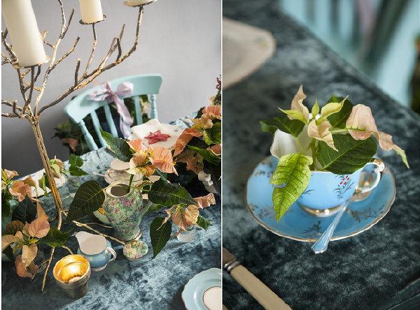 Kerst Tafel Decoratie : Kersttafel trend romantiek & pastel kerststerdag